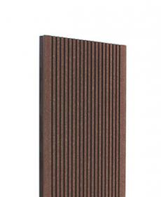 Террасная доска дпк TERRADECK ECO цвет коричневый (Россия)