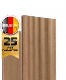 Террасная доска дпк полнотелая TWINSON MASSIVE 9360 (Бельгия) цвет 522 грецкий орех