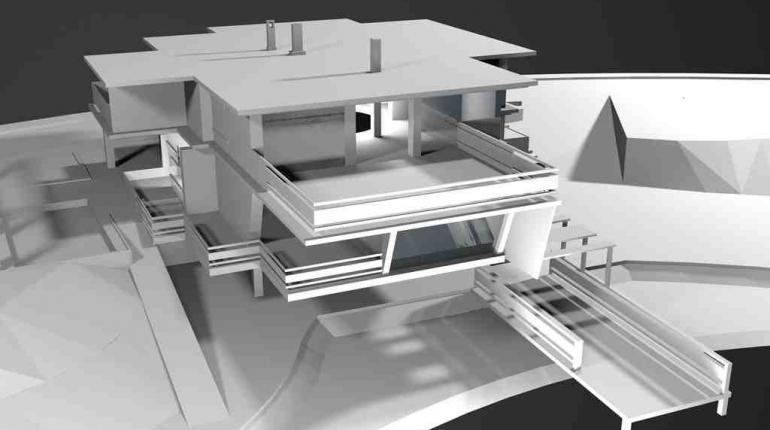 Индивидуальный жилой дом «CAVEROCK»